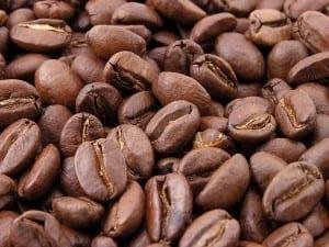 Grãos de Café Tostado