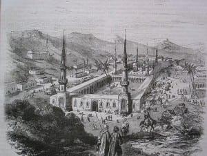 Imam Malik realizou suas aulas no Masjid al-Nabawi em Medina