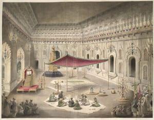 Corte de Aurangzeb incluindo dezenas de funcionários não-muçulmanos