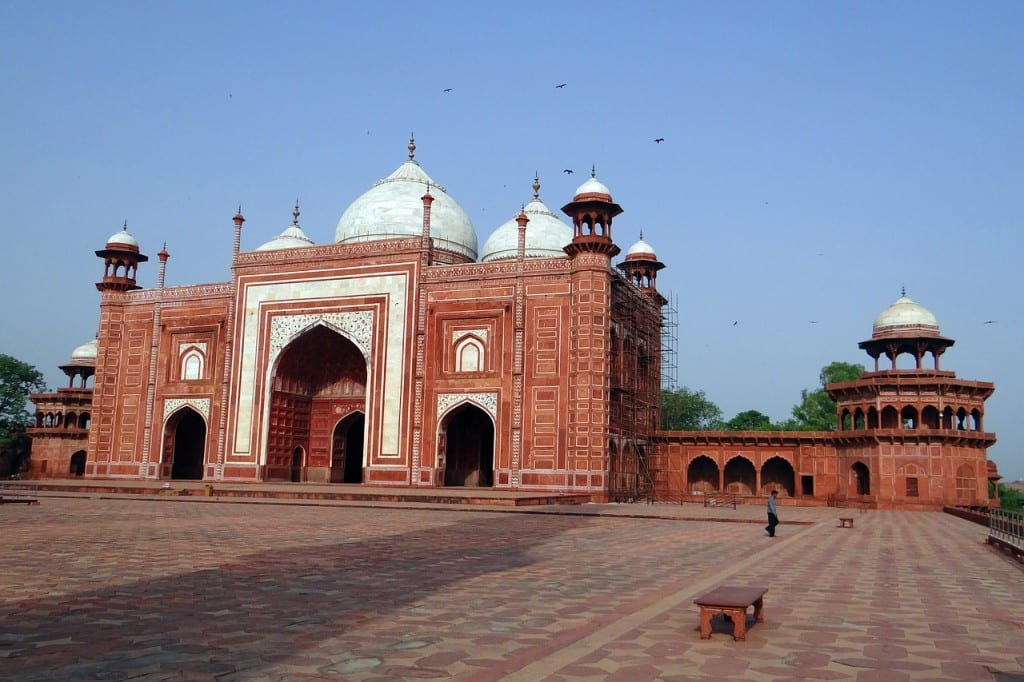 Como o Islam se espalhou na Índia Taj Mahal