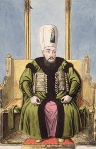 Sultão Ahmed I começou um novo sistema para a escolha de sultões em 1600
