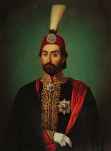 Sultão Abdulmecid I, que instituiu as reformas Tanzimat