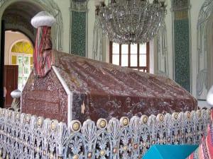 O túmulo de Osman em Bursa