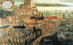 Os muçulmanos da Espanha foram dados 3 dias para deixarem suas casas e navios destinados à terras estrangeiras, em 1609.