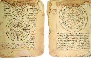 Manuscrito de Timbuktu sobre astronomia e matemática