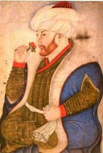 Sultão Mehmed II estabeleceu o sistema de Millet, dando liberdade religiosa para as minorias no Império Otomano