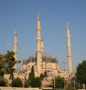 A mesquita Selimiye em Edirne, obra-prima de Mimar Sinan