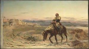 William Brydon chega às portas de Jalalabad, a única sobrevivente