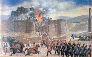 O ataque britânico de Ghazni