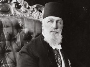 Abdulmecid II, o último califa que ocupava o cargo entre 1.922-1.924.