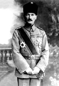 Mustafa Kemal em 1918