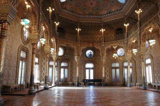 O Salão Árabe do Palácio da Bolsa do Porto