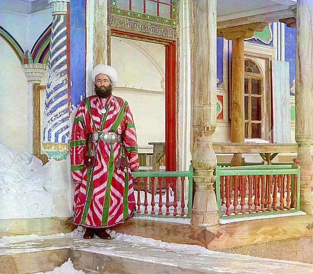 Burocrata em Bukhara