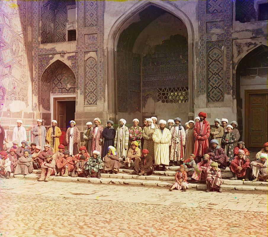 Mesquita em Samarkand