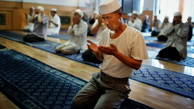 Muçulmano na China
