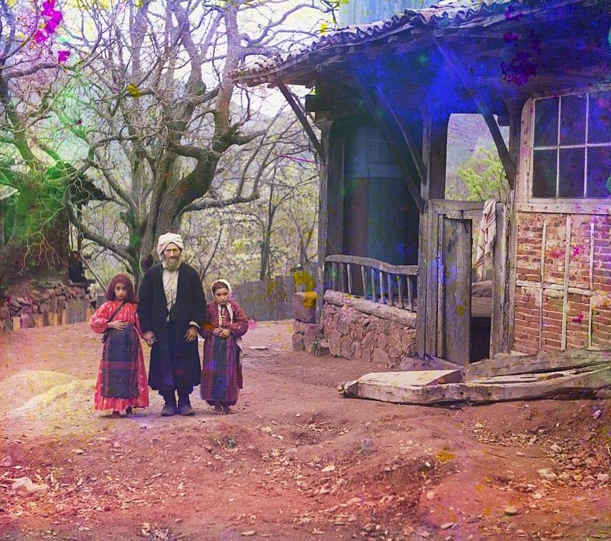 Professor e suas filhas