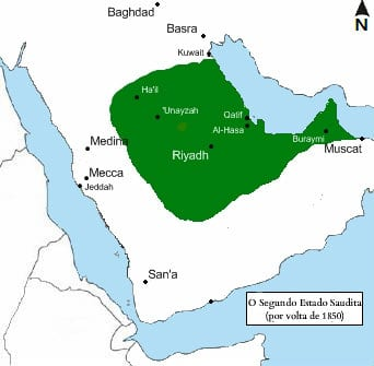 second_saudi_state