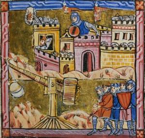 O cerco de Antioquia, ilustração francesa do século XIV. Bridgeman Images / Bibliothèque Municipale de Lyon