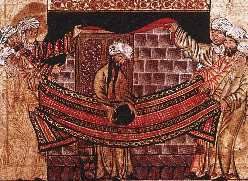 Profeta Muhammad e Pedra Negra