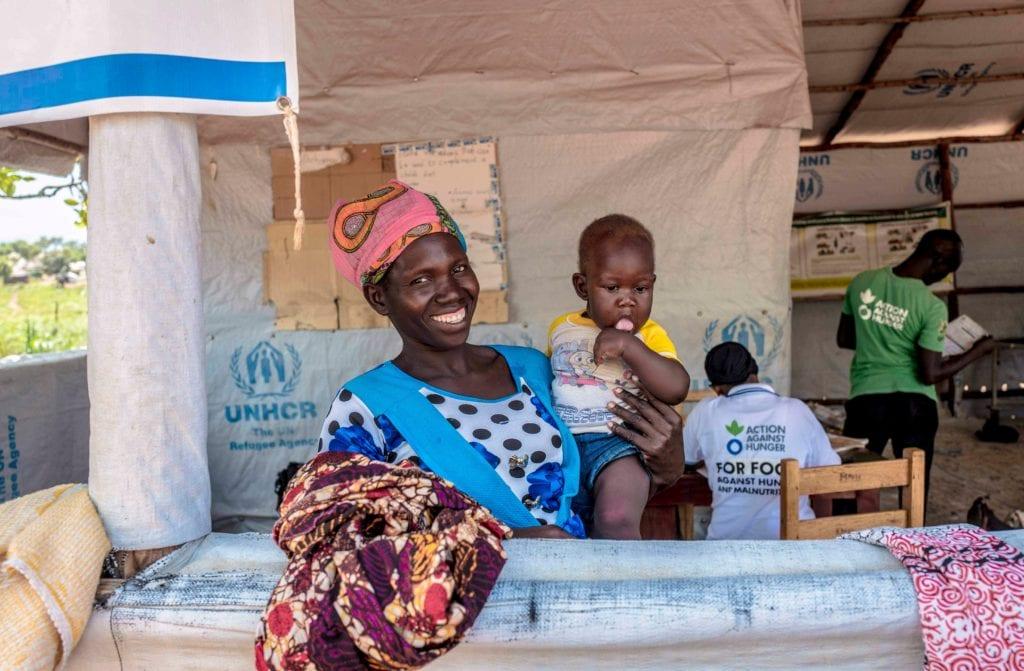 Refugiados na Uganda