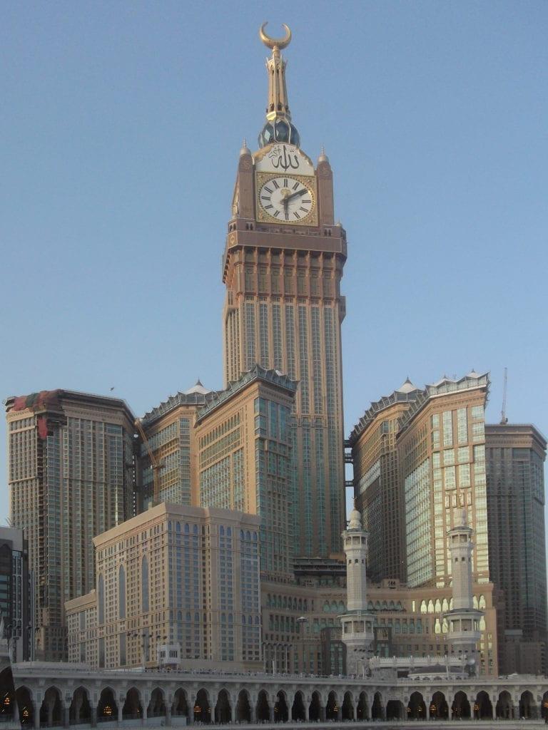 Complexo Abaj al Bait em Meca