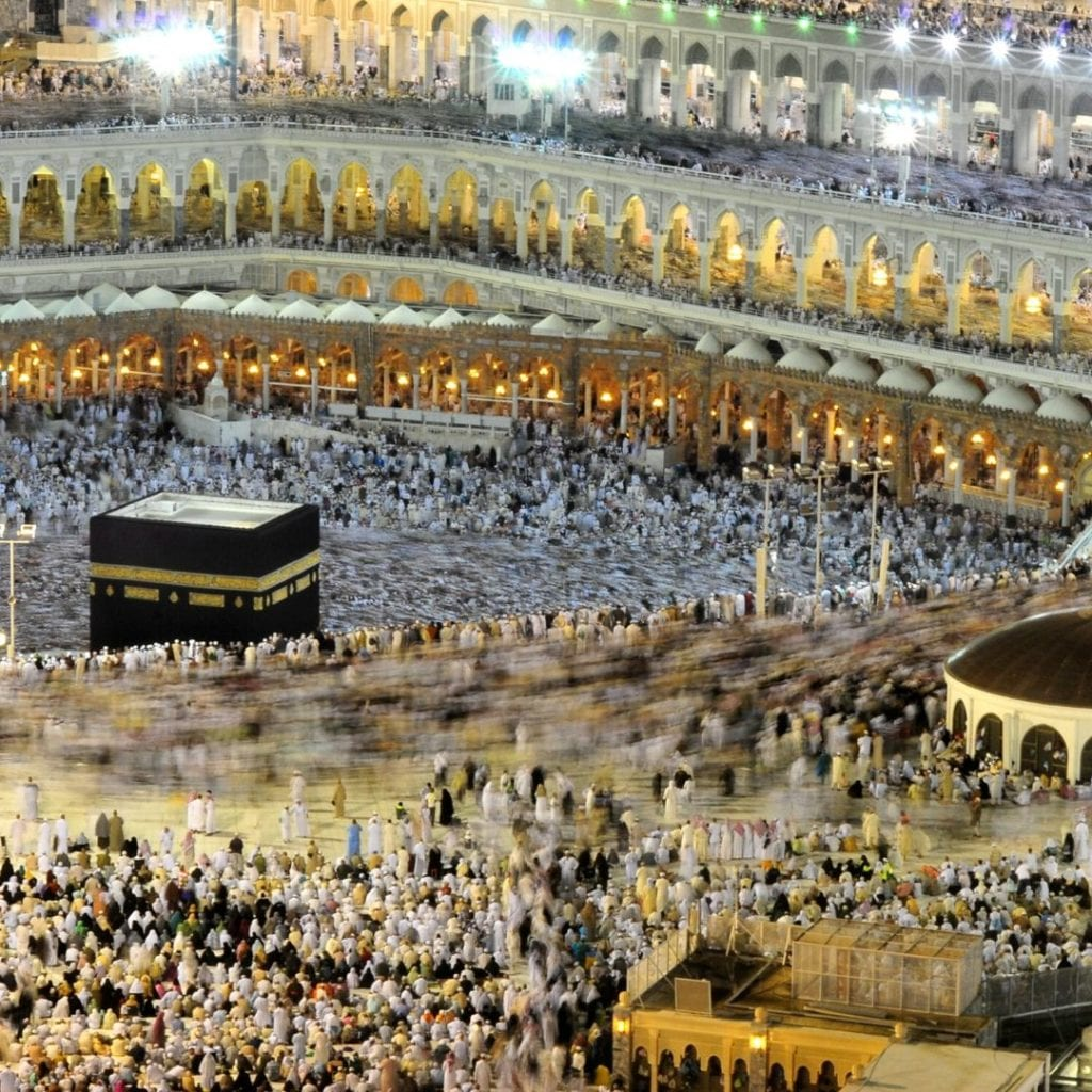 Hajj ou Umrah em Meca