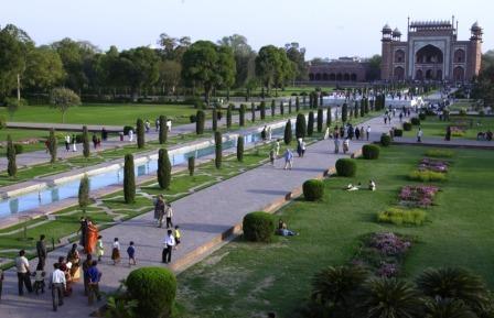 Jardim do Taj Mahal