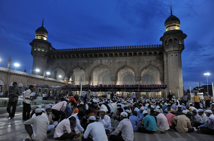 Mecca Masjid na Índia