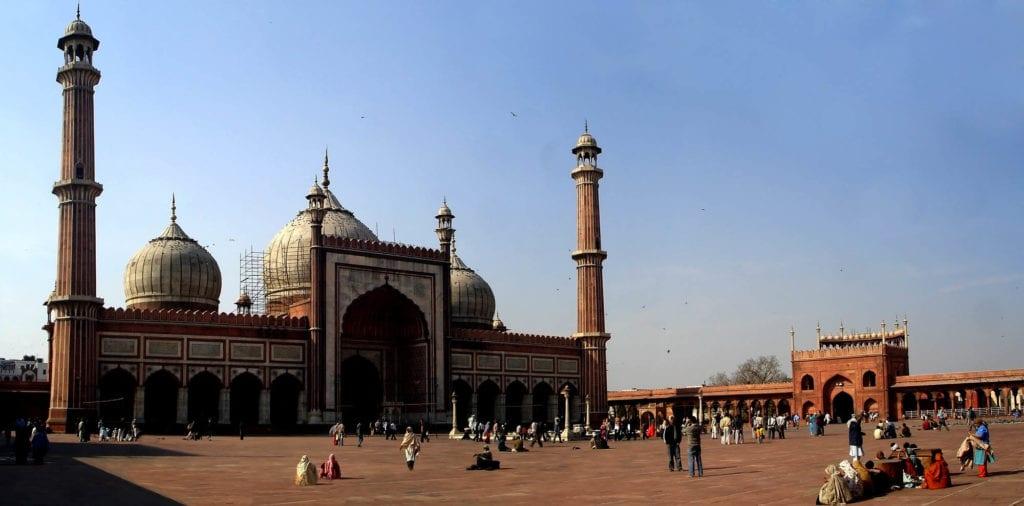 Mesquita Nova Deli Jama