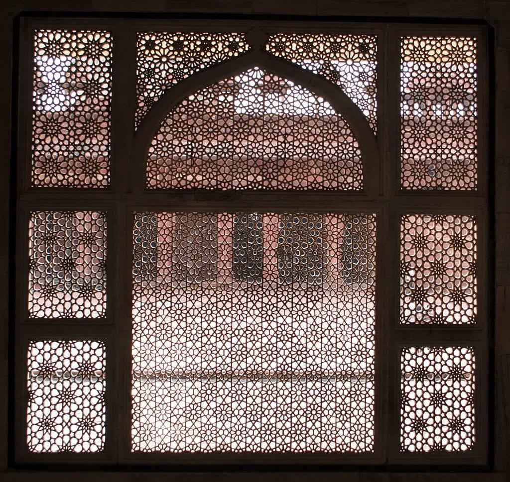 Padrão Geométrico na Arquitetura Indiana