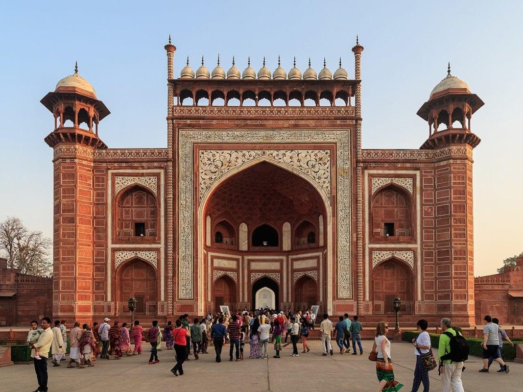 Portão de Acesso ao Taj Mahal