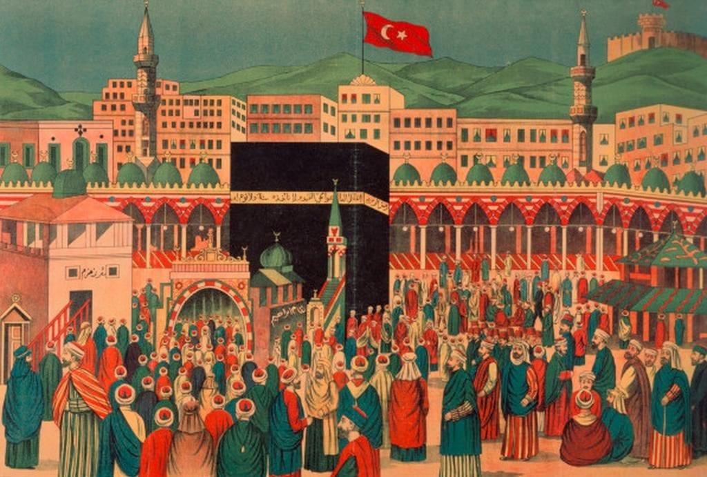 Representação de Meca no período Otomano