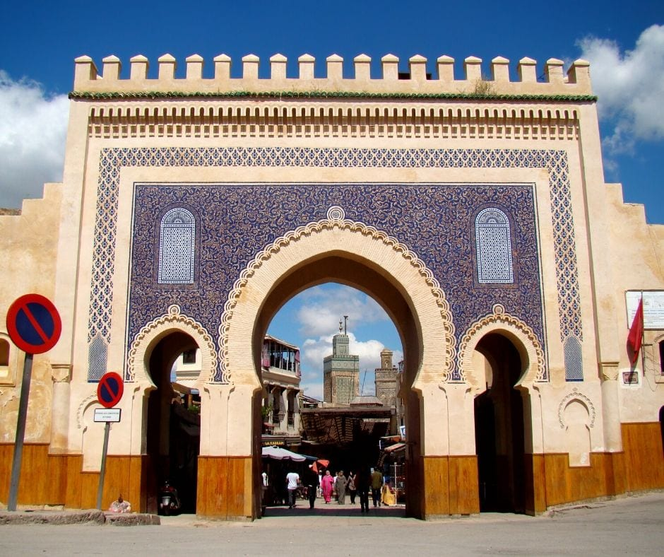 Bab Bou Jaloud em Fez