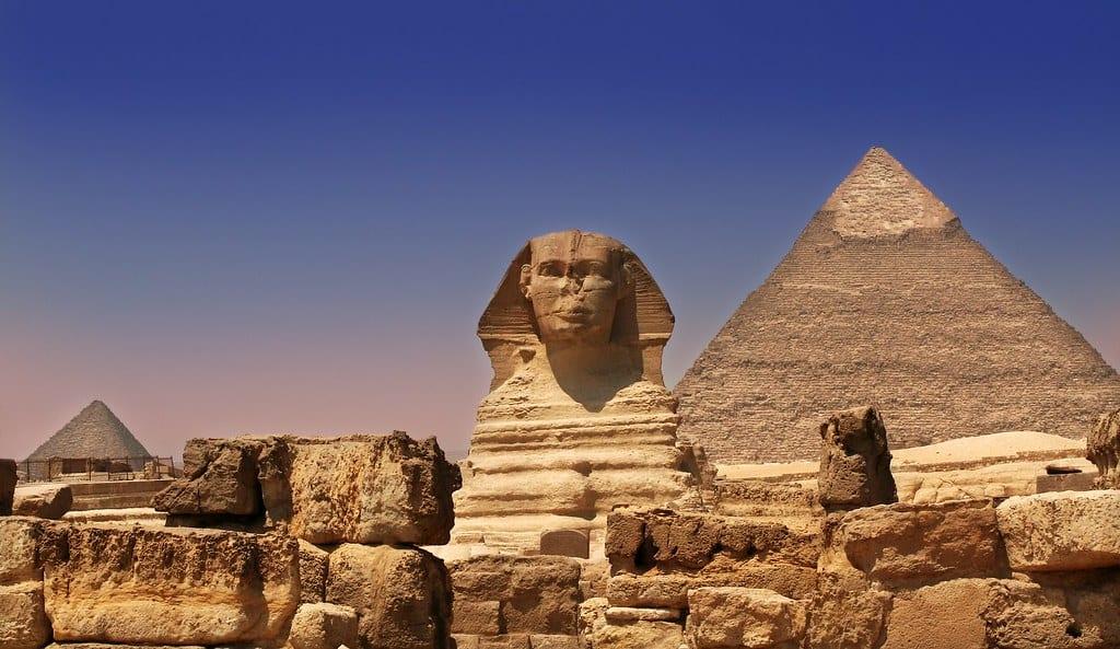 Esfinge no Egito