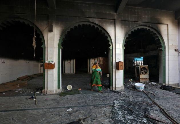 Mesquita Incendiada